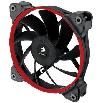FAN CORSAIR AIR SERIES AF120 HIGH AIRFLOW QUIET EDITION OU PERFORMANCE EDITION - 120MM X 25MM