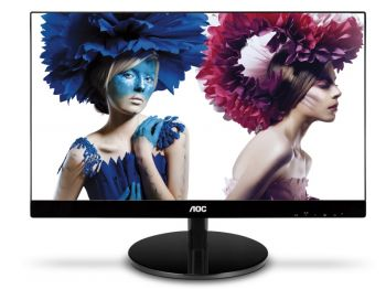 MONITOR AOC 21,5 LED IPS 1920X1080 FULLHD SLIM SEM BORDA VGA DVI I2269VW