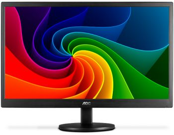 MONITOR AOC 21,5 LED 1920X1080 WIDESCREEN FULLHD E2270SWN