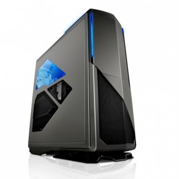 GABINETE NZXT PHANTOM 820 GUN METAL/ BRANCO/ PRETO LATERAL EM ACRILICO C/ CONTROLADOR DE LED ULTRA-TOWER CA-PH820-G1