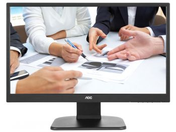 MONITOR AOC LED 23 1920X1080 FULL HD WIDESCREEN VGA HDMI VESA COM AJUSTE DE ALTURA M2470PWH