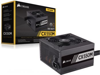 FONTE CORSAIR CX550M 80PLUS BRONZE ATX SEMI-MODULAR CP-9020102-WW