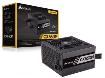 FONTE CORSAIR CX650M ATX 80PLUS BRONZE SEMI-MODULAR CP-9020103