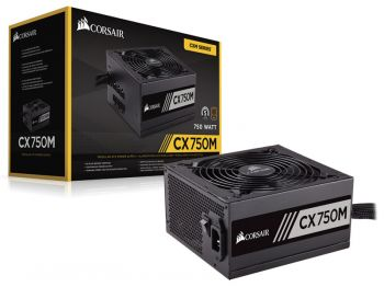 FONTE CORSAIR CX750M 80PLUS BRONZE ATX SEMI-MODULAR CP-9020061