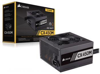 FONTE CORSAIR CX450M 80PLUS BRONZE ATX SEMI-MODULAR CP-9020101