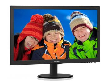 MONITOR PHILIPS LED 23 1920X1080 FULL HD 243V5QHAB
