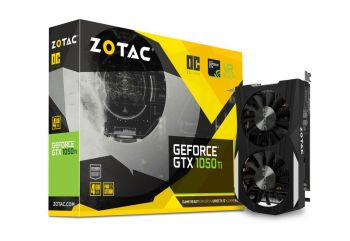 PLACA DE VIDEO ZOTAC GTX 1050 TI OC EDITION 4GB GDDR5 128BITS ZT-P10510B-10L