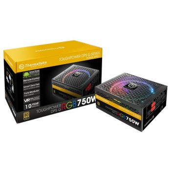 FONTE THERMALTAKE 750W TOUGHPOWER GRAND 80PLUS GOLD RGB PS-TPG-0750DPCG-R