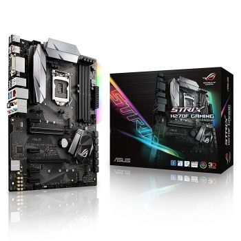 PLACA MAE ASUS STRIX H270F GAMING DDR4 M.2 USB3.1 ATX LGA 1151