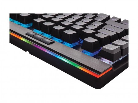 TECLADO CORSAIR GAMING K95 RGB PLATINUM CHERRY MX SPEED CH-9127014-BR  - foto principal 1