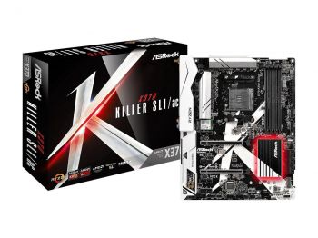 PLACA MAE ASROCK X370 KILLER SLI DDR4 M.2 USB3.1 ATX AM4