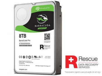 HDD SEAGATE BARRACUDA PRO 8TERA 7200RPM 256MB 6GB/S SATA ST8000DM0004