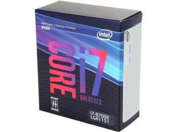 PROCESSADOR INTEL COFFEE LAKE I7-8700K SIX-CORE 4.7GHZ LGA 1151