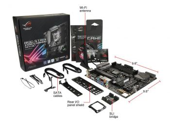 PLACA MAE ASUS ROG STRIX Z370-G GAMING USB3.1 DDR4 M.2 LGA 1151