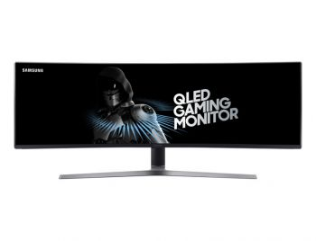 MONITOR SAMSUNG 49 SUPER ULTRAWIDE QLED 1MS 144MHZ PRETO C49HG90