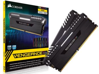 MEMORIA CORSAIR VENGEANCE RGB 32GB DDR4 KIT 2X16GB 3000MHZ CMR32GX4M2D3000C16