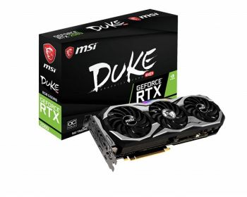 PLACA DE VIDEO MSI RTX 2080 DUKE OC 8GB GDDR6 256BIT