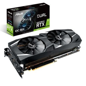 PLACA DE VIDEO ASUS RTX 2070 DUAL OC 8GB GDDR6 256BIT DUAL-RTX2070-O8G