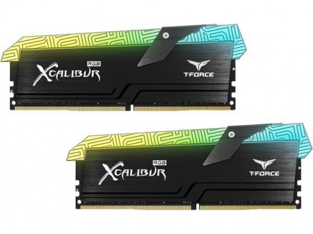 MEMORIA TEAMGROUP T-FORCE XCALIBUR SPECIAL EDITION RGB 16GB DDR4 KIT 2X8GB 4000MHZ  - foto principal 1