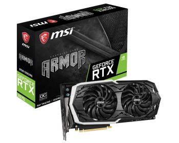 PLACA DE VIDEO MSI RTX 2070 ARMOR 8G 8GB GDDR6 256BIT