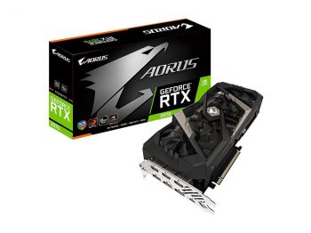 PLACA DE VIDEO GIGABYTE RTX 2070 AORUS 8GB GDDR6 256BIT GV-N2070AORUS-8GC