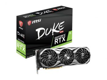 PLACA DE VIDEO MSI RTX 2070 DUKE 8G OC 8GB GDDR6 256BIT