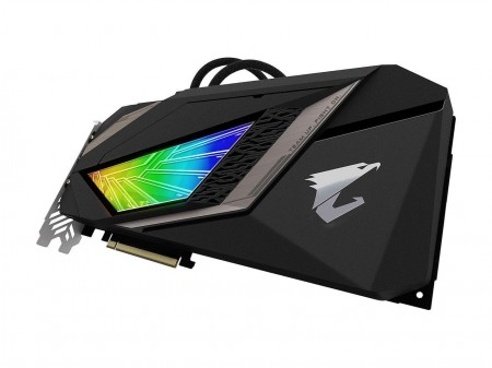 PLACA DE VIDEO GIGABYTE RTX 2080 XTREME WATERFORCE 8GB GDDR6 256BIT GV-N2080AORUSX W-8GC  - foto principal 1
