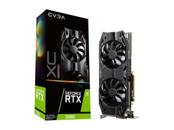 PLACA DE VIDEO EVGA RTX 2060  XC ULTRA GAMING 6GB GDDR6 192BIT 06G-P4-2167-KR