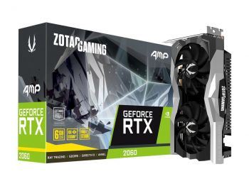 PLACA DE VIDEO ZOTAC RTX 2060 AMP 6GB GDDR6 192BIT ZT-T20600D-10M