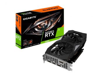 PLACA DE VIDEO GIGABYTE RTX 2060 OC 6GB GDDR6 192BIT GV-N2060OC-6GD