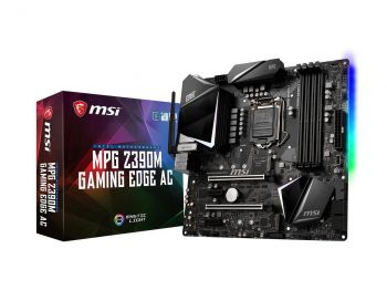 PLACA MAE MSI MPG Z390M GAMING EDGE AC DDR4 USB3.1 M.2 M-ATX LGA 1151