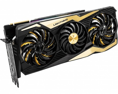 PLACA DE VIDEO MSI RTX 2080 TI LIGHTNING Z 11GB GDDR6 352BIT  - foto principal 1