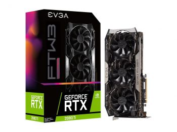 PLACA DE VIDEO EVGA RTX 2080 TI FTW3 ULTRA GAMING 11GB GDDR6 352BIT 11G-P4-2487-KR