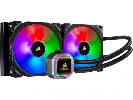 WATER COOLER CORSAIR H115I RGB PLATINUM HYDRO SERIES 280MM CW-9060038-WW  - foto principal 1