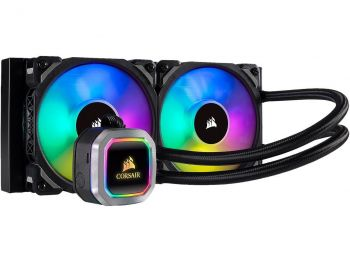 WATER COOLER CORSAIR H100I RGB PLATINUM HYDRO SERIES 240MM CW-9060039-WW