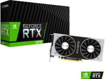 PLACA DE VIDEO NVIDIA RTX 2070 FOUNDERS EDITION 8GB GDDR6 256BIT