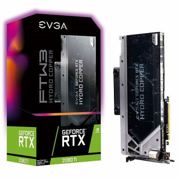 PLACA DE VIDEO EVGA RTX 2080 TI FTW3 ULTRA HYDRO COPPER GAMING 11GB GDDR6 352BIT 11G-P4-2489-KR