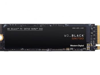 SSD M.2 WD BLACK SN750 1TB NVME INTERNAL GAMING WDS100T3X0C