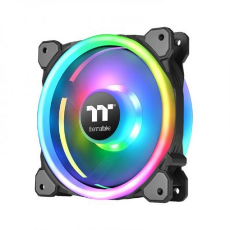 FAN THERMALTAKE RIING TRIO 120MM TT PREMIUM EDITION RGB TRIPLE PACK CL-F072-PL12SW-A  - foto principal 1
