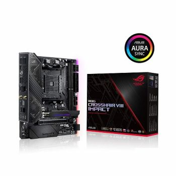 PLACA MAE ASUS X570 ROG CROSSHAIR VIII IMPACT DDR4 M.2 USB3.1 MINI-DTX AM4