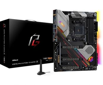 PLACA MAE ASROCK X570 PHANTOM GAMING X DDR4 M.2 USB3.1 ATX AM4