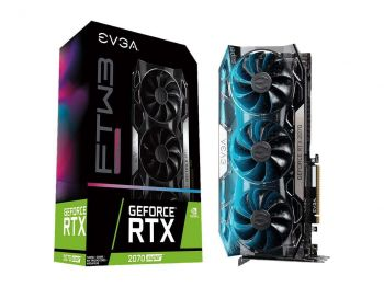 PLACA DE VIDEO EVGA RTX 2070 SUPER FTW3 ULTRA GAMING 8GB GDDR6 256BIT 08G-P4-3277-KR