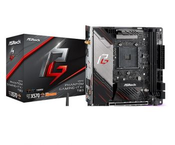 PLACA MAE ASROCK X570 PHANTOM GAMING-ITX/TB3 DDR4 M.2 USB3.1 ITX AM4