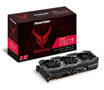 PLACA DE VIDEO POWER COLOR RX 5700 XT RED DEVIL 8GB 256BIT GDDR6 PCI-E 4.0 8GBD6-3DHE/OC