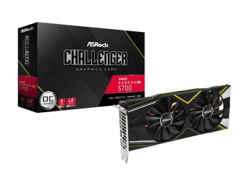 PLACA DE VIDEO ASROCK RX 5700 XT CHALLENGER D 8G OC 8GB 256BIT GDDR6 PCI-E 4.0