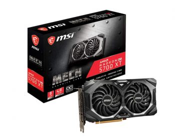 PLACA DE VIDEO MSI RX 5700 XT MECH OC 8GB 256BIT GDDR6 PCI-E 4.0