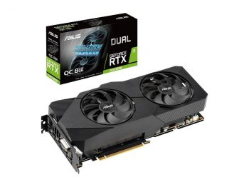 PLACA DE VIDEO ASUS RTX 2060 SUPER EVO OC EDITION 8GB GDDR6 256BIT DUAL-RTX2060S-O8G-EVO