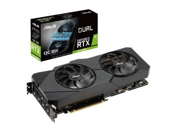 PLACA DE VIDEO ASUS RTX 2070 SUPER EVO OC EDITION 8GB GDDR6 256BIT DUAL-RTX2070S-O8G-EVO