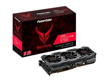 PLACA DE VIDEO POWER COLOR RX 5700 RED DEVIL 8GB 256BIT GDDR6 PCI-E 4.0 AXRX 5700 8GBD6-3DHE/OC