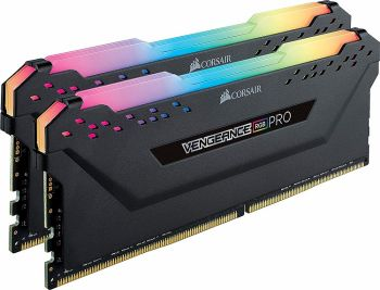 MEMORIA CORSAIR VENGEANCE RGB PRO 16GB DDR4 KIT 2X8GB CL16 3200MHZ